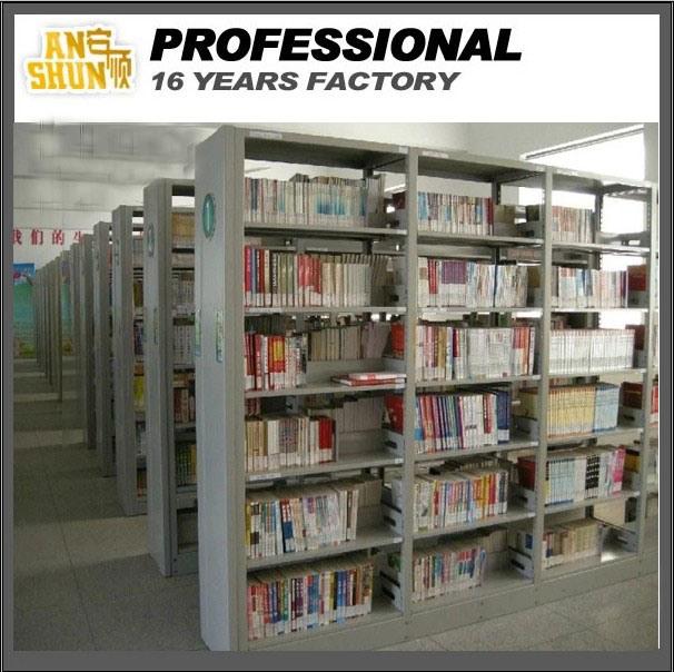 Концентрированный мобильных книжная полка стали библиотека к.