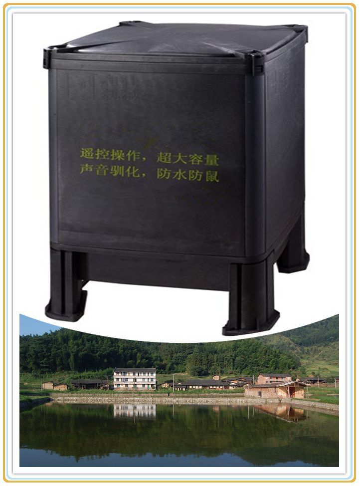 China automatic electric fish pond feeding machine fish for Fish feeder for pond