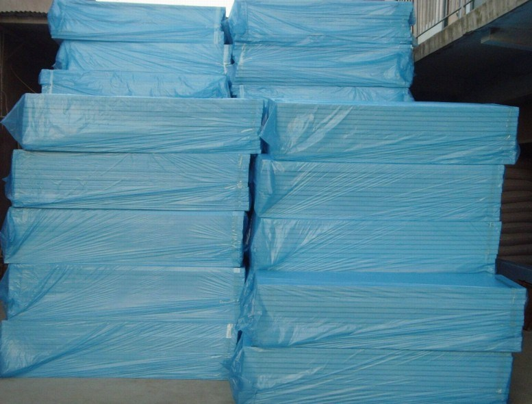 China xps polystyrene foam waterproof insulation board extruded