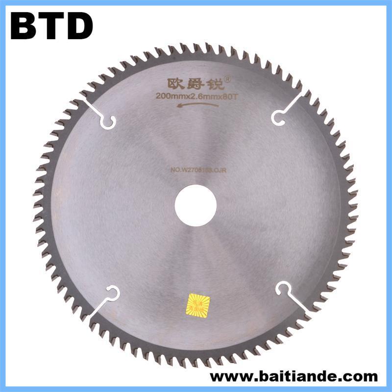 China Carbide Circular Saw Blade For Aluminium China