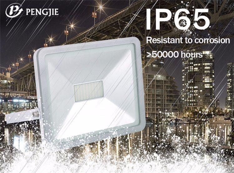 CRI>70 Aluminium Housing 50W 2700-7000k iPad Style Floodlight LED