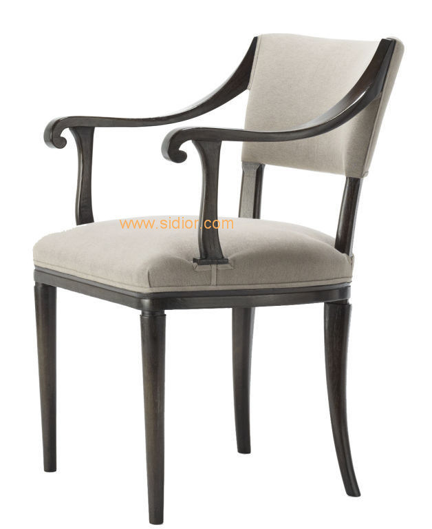 (CL-1113) Luxury Hotel Restaurant Dining Furniture Wooden Dining Chair