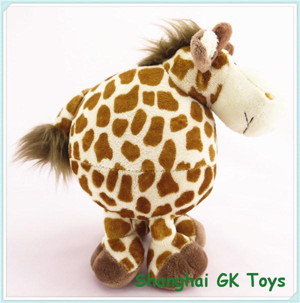 China Baby Toys Fat Giraffe Valentine Giraffe Plush Toy