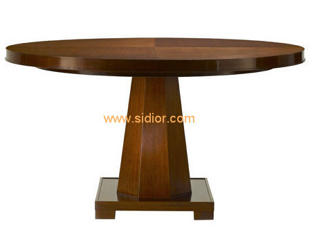 (CL-3320) Antique Hotel Restaurant Dining Furniture Wooden Dining Table