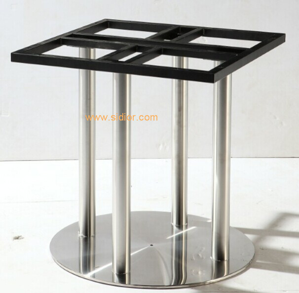 (SC-732) Restaurant Dining Furniture Base Stainless Steel Metal Table Legs