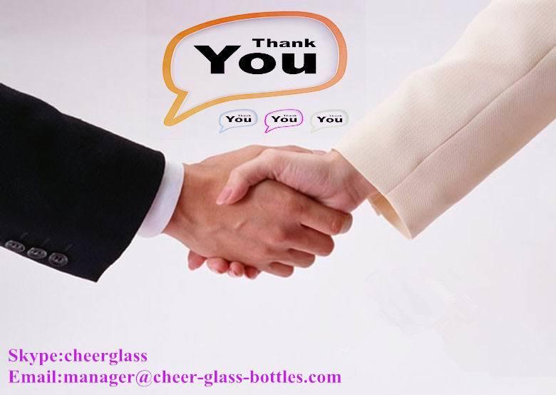 Wine Bottle, Glass Hip Flask 150ml