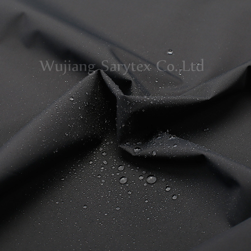 Functional Breathable Warm Fabric with TPU Flocking for Outdoor Jacket