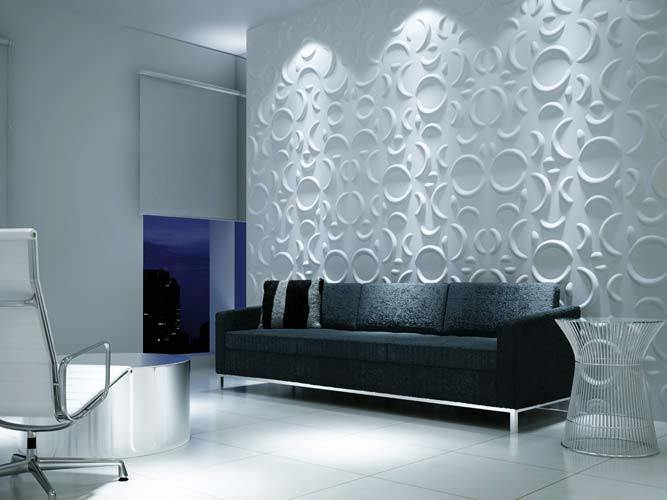 Acoustic Soundproof 3D Panel for Interior Wall Background Decorative