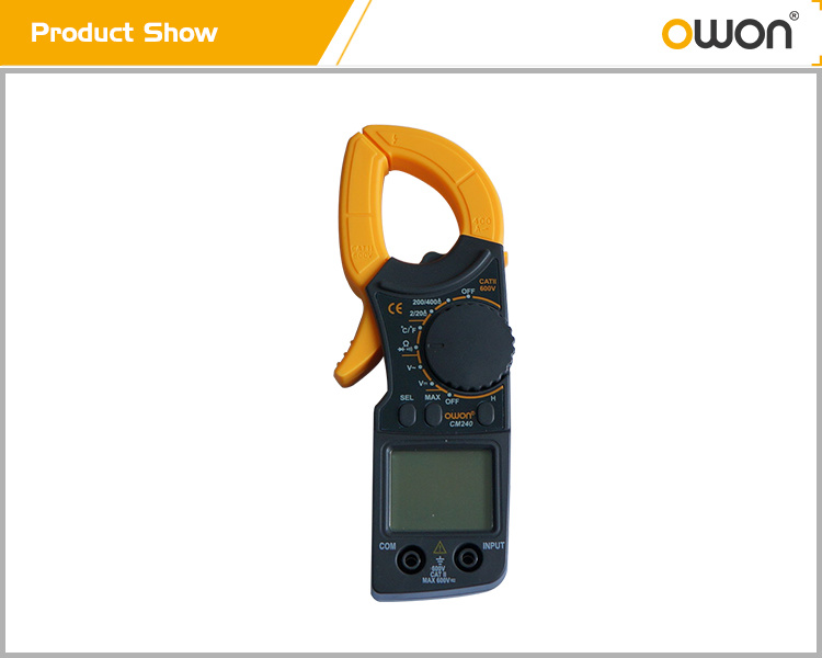 OWON Digital Clamp Meter (CM240)