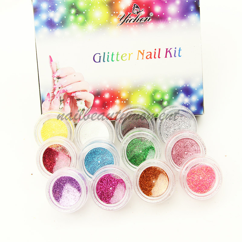 Nail Art Decoration Glitter Powder Dust Sparkle Glitter (D04)