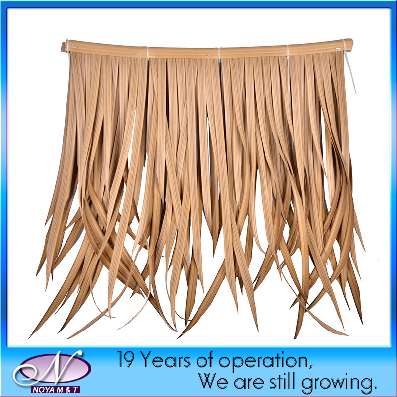 Artificial Decoration Environmental Simulation / Synthetic Thatch Roof Tiles