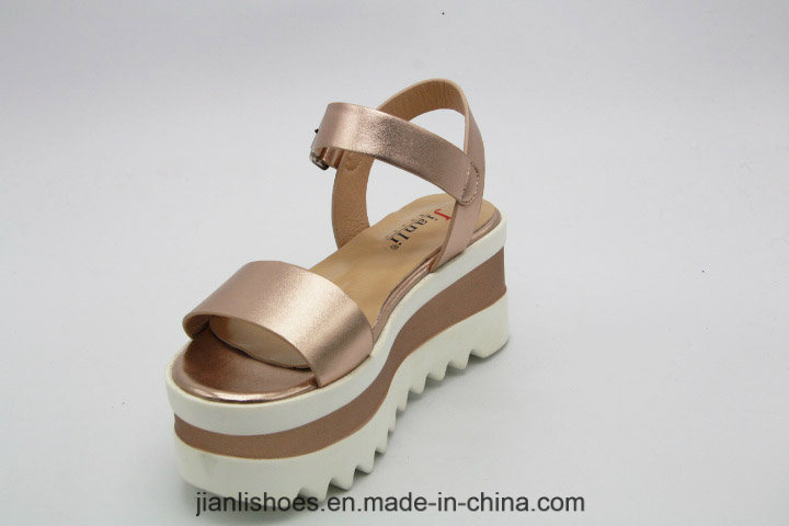 2018 Summer Ladies Colorful PU Women Sandal (PSA012)