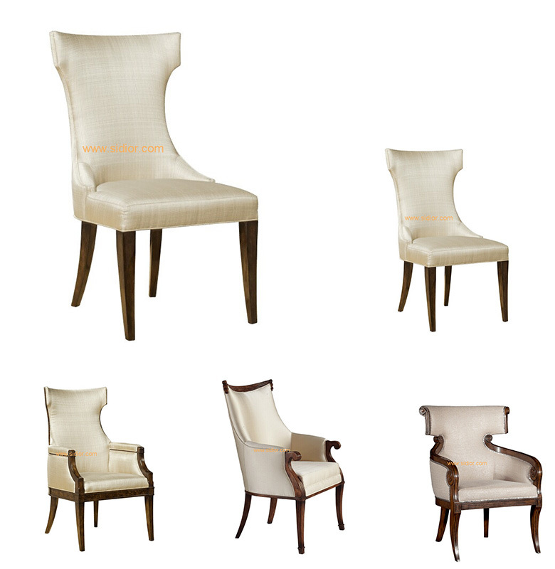 (CL-1125) Luxury Hotel Restaurant Dining Furniture Wooden Dining Chair