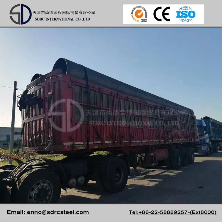 API 5L Psl2 Longitudinal Submerged Arc Welding Pipeline