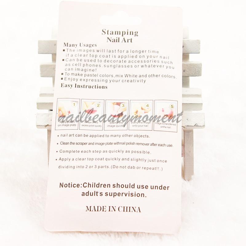 Stamping Nail Art Set Scraper Stamper Set (SNA11)
