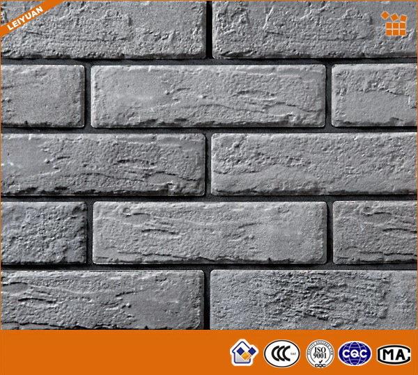Briques porcelaine gris ext rieur muraux d coratifs - Ladrillos decorativos para exteriores ...