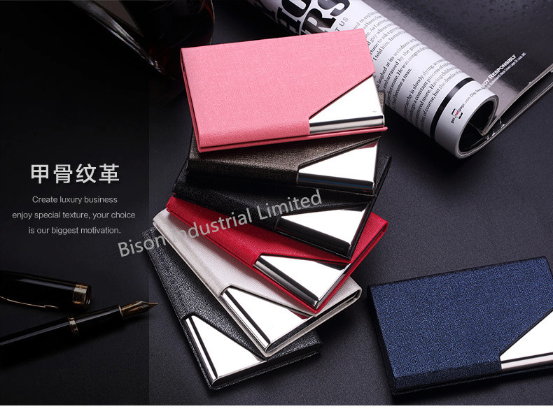 Customized Logo Printing Elegant Business Card Holder for Business Gifts