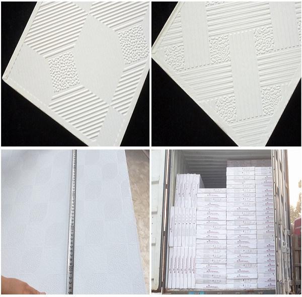 China Vinyl Faced Gypsum Board 595 595 7mm Sd Gb 01