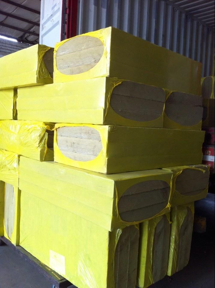 China Fireproof Rockwool Insulation Board Mineral Wool
