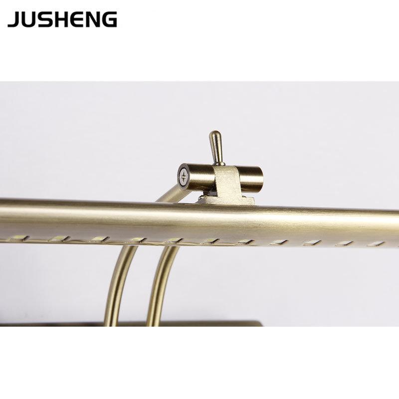 China 7w New Golden Led Wall Lamp Indoor Bathroom Mirror
