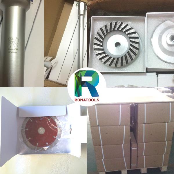 Romatools Diamond Milling Tools of CNC Stubbing Wheels
