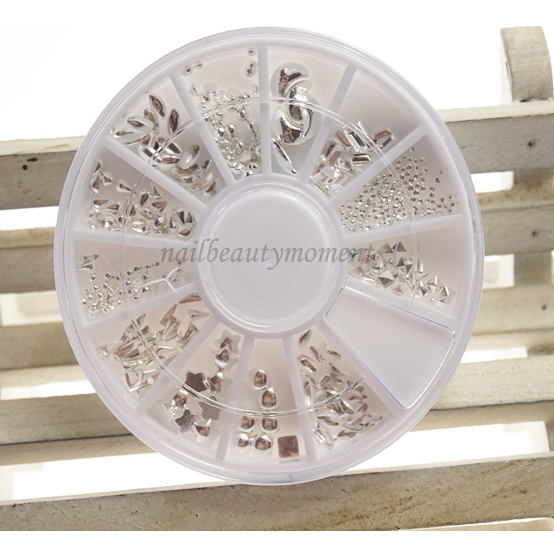 Manikur Nail Art Metal Beauty Decoration Wheel Products (D82)