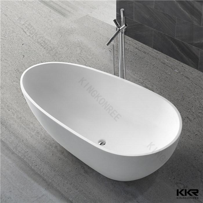 China Gel Coat Solid Surface Acrylic Freestanding Bath Tub