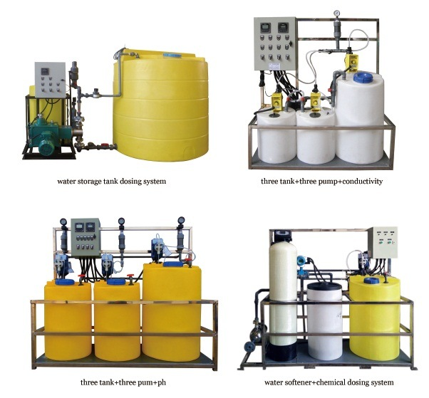 China chemical dosing system for chilled water china Swimming pool chemical dosing system