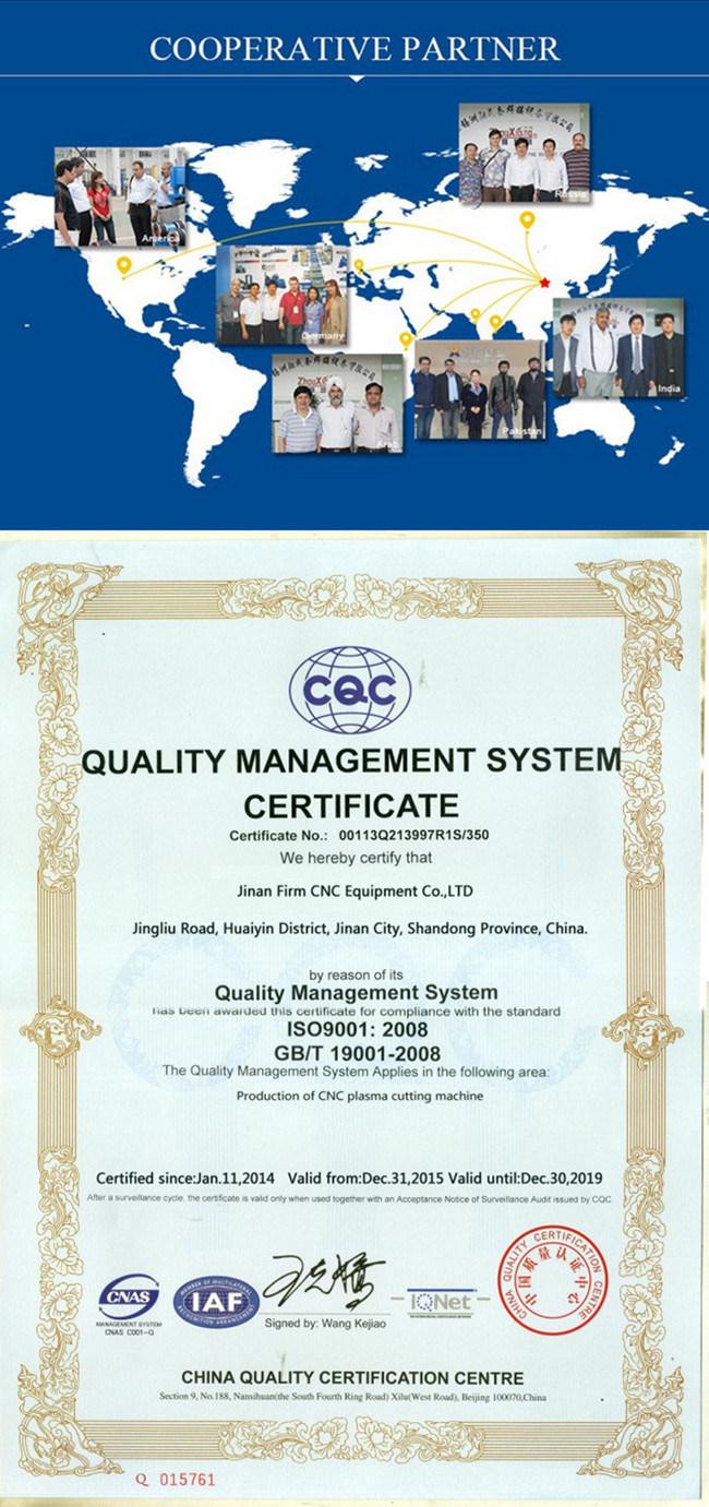 China 1300mmx2500mm (4′x8′) CNC Plasma Cutter - China ...