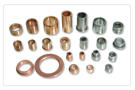 China Sintered Iron Bushing Oil Impregnated For Fan And