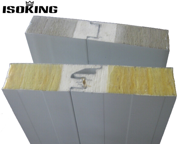 China fireproof wall rockwool m2 price sandwich panel for Fireproof rockwool