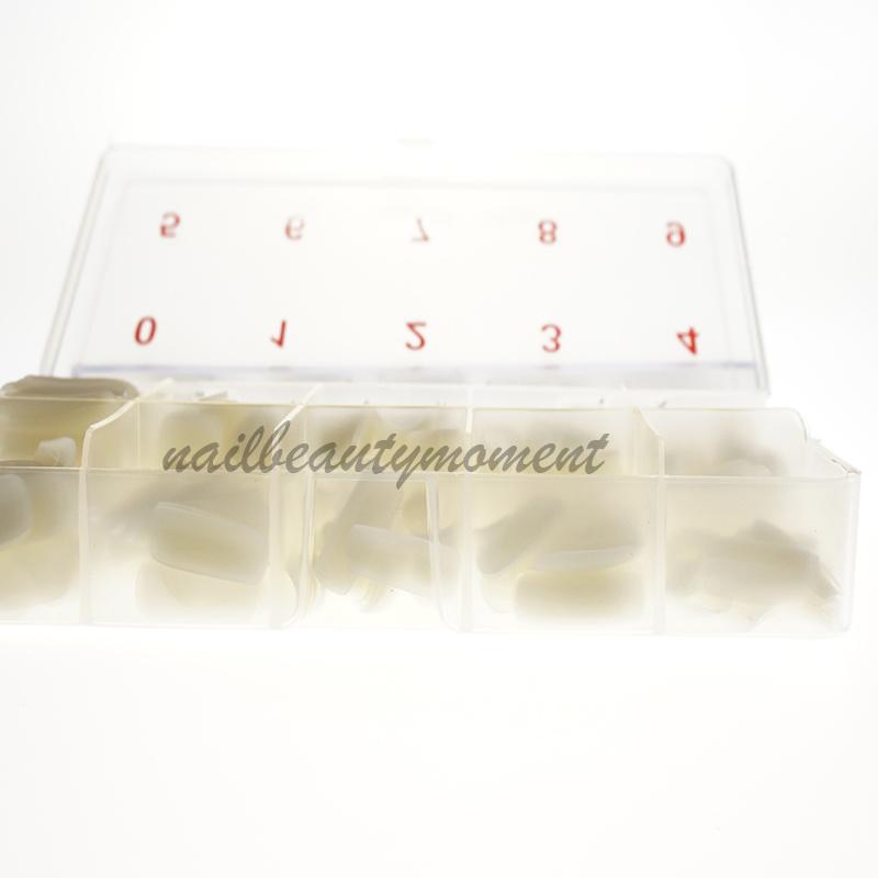 Artificial Fingernails Nail Tips 500 PCS Per Box (NT02)
