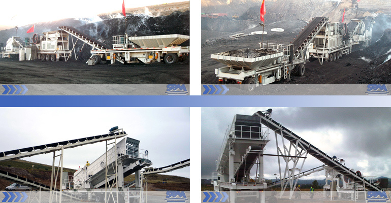 mobile crushing plant advantages in mining