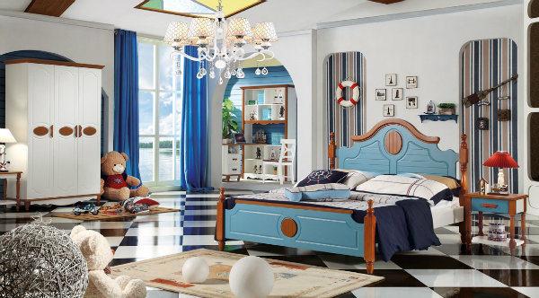 아이들 나무로 되는 2인용 침대는 디자인한다 다락 침대 아이 ...