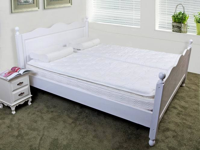 Cama king size ajustable con colch n suave cama king for Cama king size con colchon
