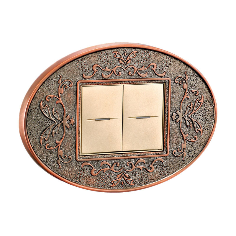 Solid Brass Customized Wall Switch / Switch Panel