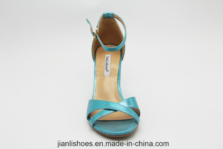 2018 Sexy Ladies Colorful PU Women Sandal Shoe (HSA49)