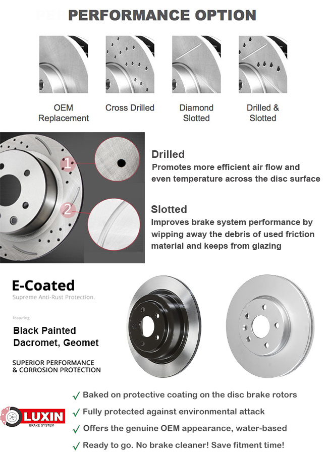 Replacement Car Parts : China oem replacement auto parts car brake disc