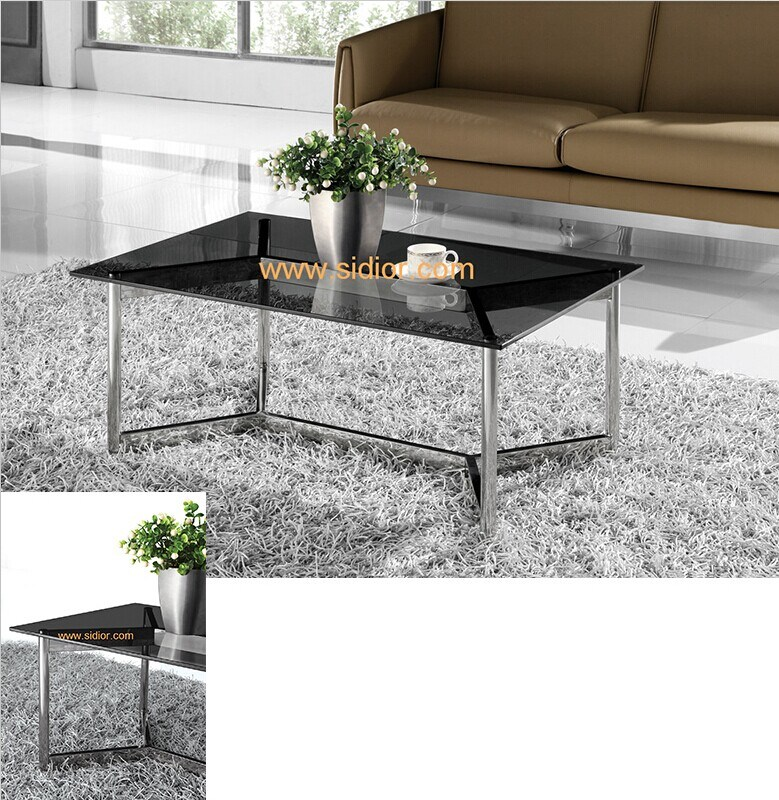 (SD-5009) Modern Hotel Restaurant Living Room Furniture Glass Coffee Table