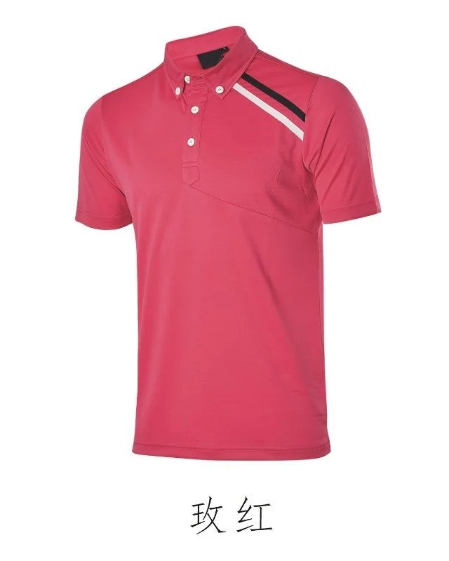 China dry fit golf t shirt short sleeve uva protection for High end golf shirts
