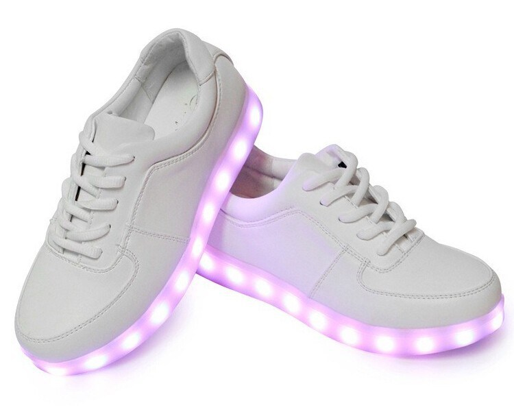 Wholesale LED Shoes with 7colors Plus 4 Flashing Mode