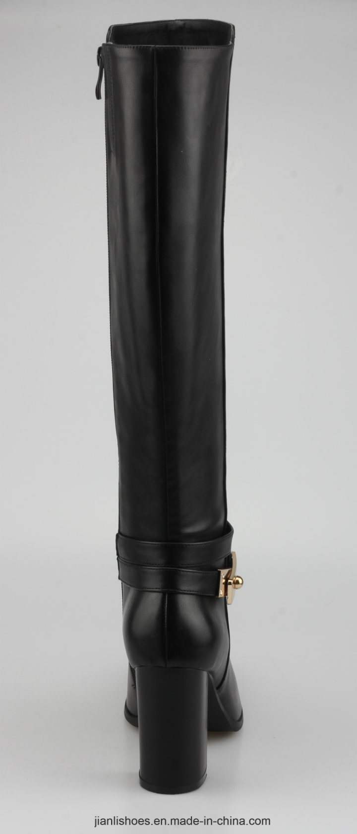 2018 Classic Style Women PU Boots with Contracted Decoration (BT762)