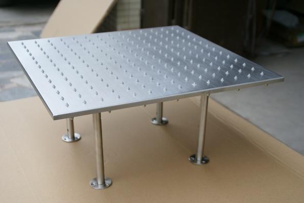 t te de douche mont e par plafond carr de ciel de pluie de 500mm 500mm t te de douche mont e. Black Bedroom Furniture Sets. Home Design Ideas