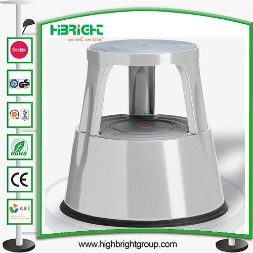 China Auto Lock Step Stools With Retractable Wheels