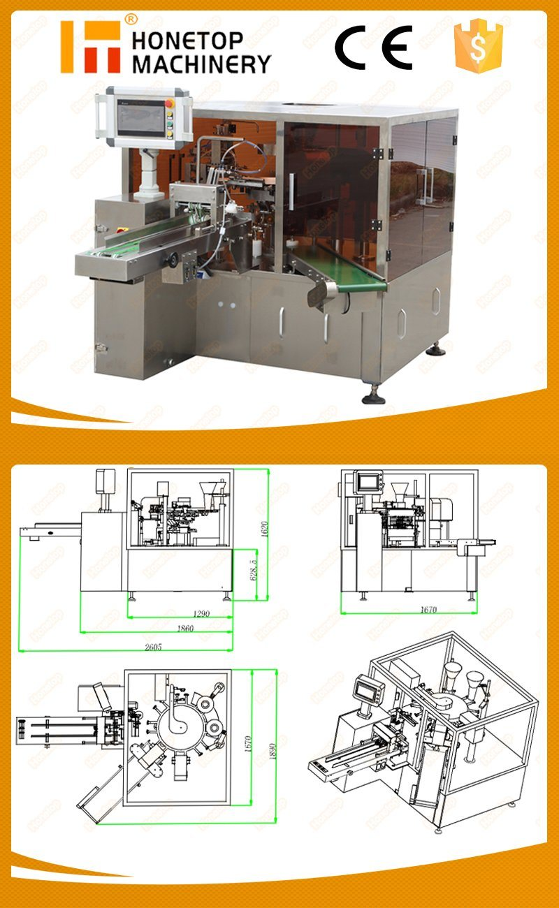 Pouch Packaging Machine for Dried Fruit