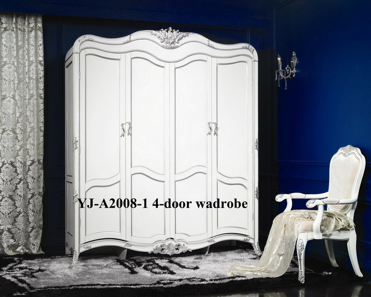 High Quality Classical Wooden Furniture Bedroom Set