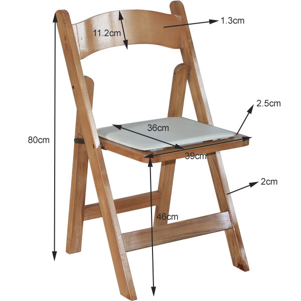 china wood wedding folding chair china folding chair