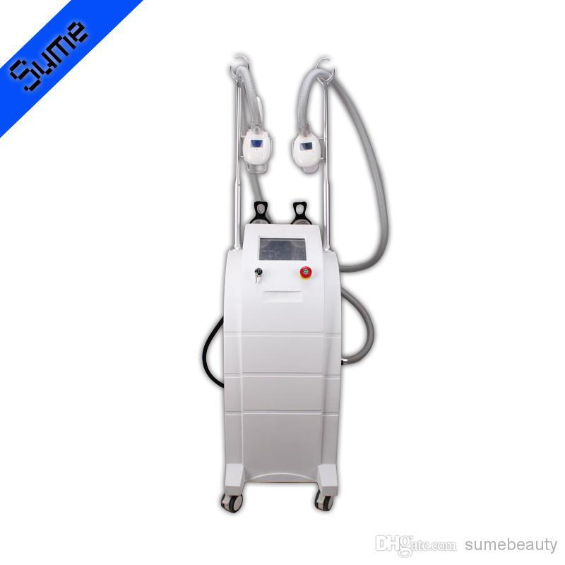 2 Cryo Head Cryolipolysis Freeze Fat Lipolysis Beauty Machine