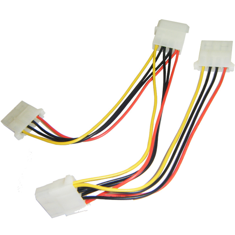 4 pin wiring harness splitter 4 pin power supply wiring