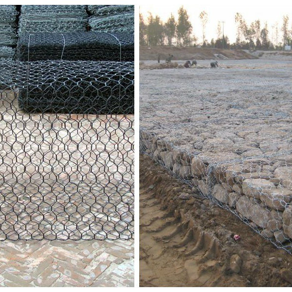 China gabion basket galvanized box